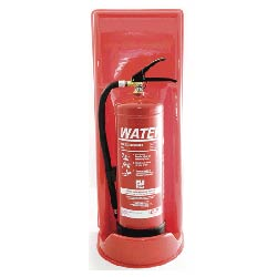 Single Green Fire Extinguisher Stand